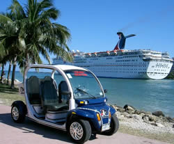 Good Sight Seeing Tour By Electric Car Miami Beach Port Of Miami